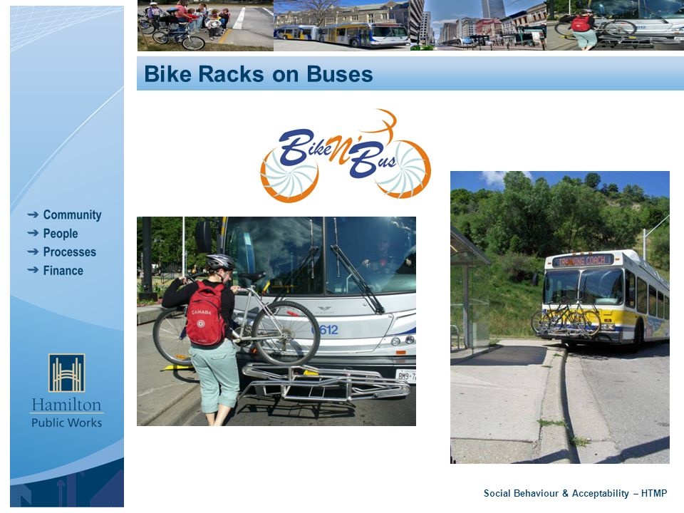 Social Behaviour & Acceptability – HTMP Bike Racks on Buses