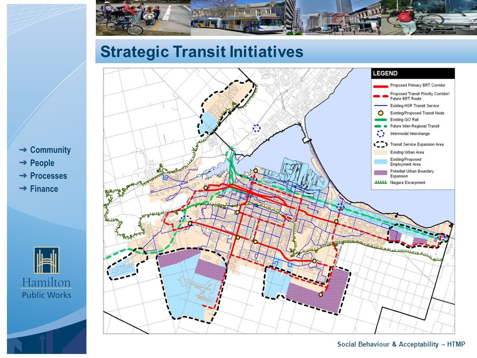 Social Behaviour & Acceptability – HTMP Strategic Transit Initiatives