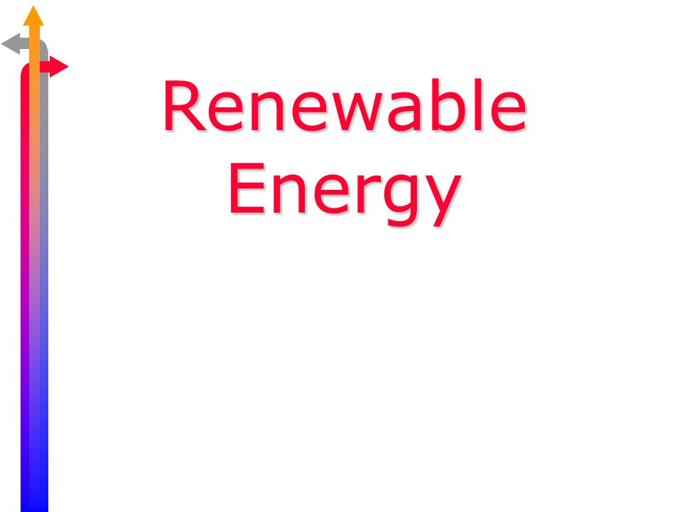 Energy Efficiency Solar Energy Hydropower Wind Power Biomass Geothermal Sustainability www.bio.miami.edu/beck/esc101/Chapter14 &15.ppt