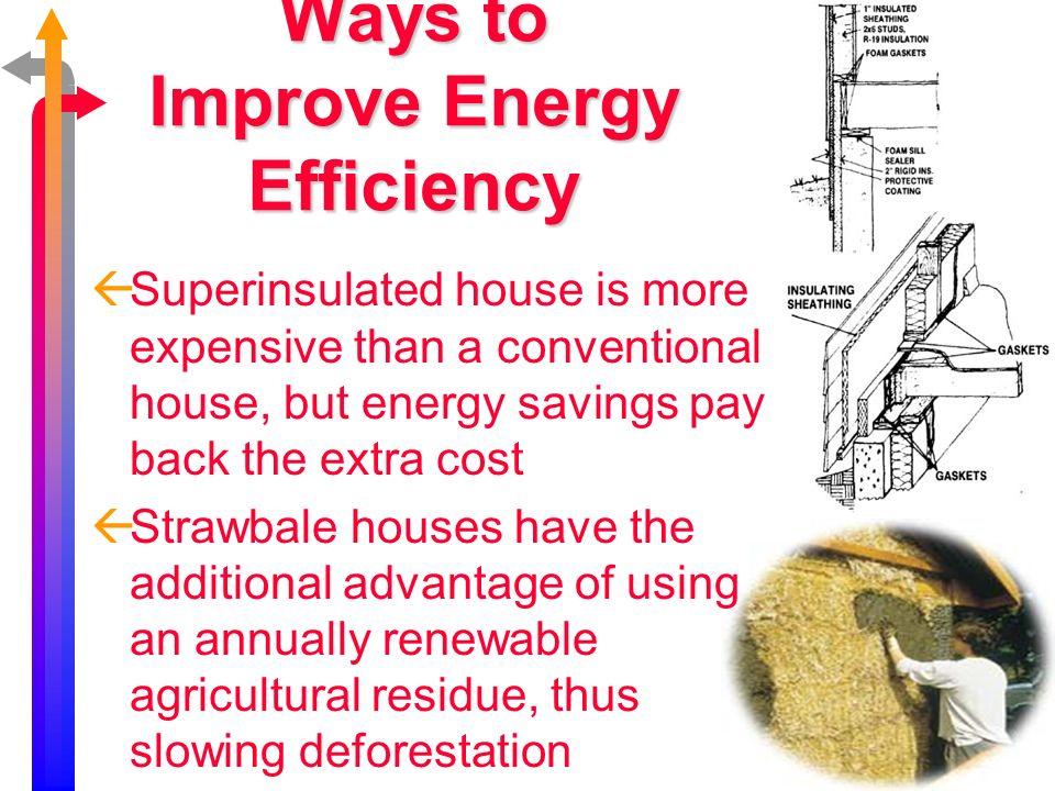 www.bio.miami.edu/beck/esc101/Chapter14 &15.ppt Energy Efficiency Solar Energy Hydropower Wind Power BiomassGeothermal Sustainability