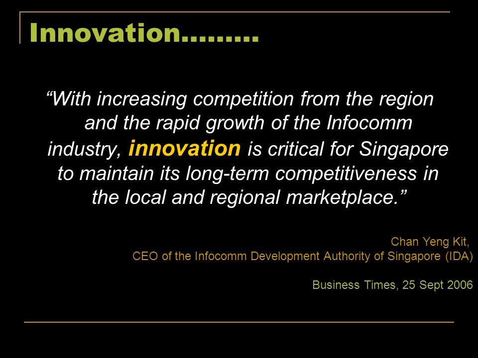Innovation ………