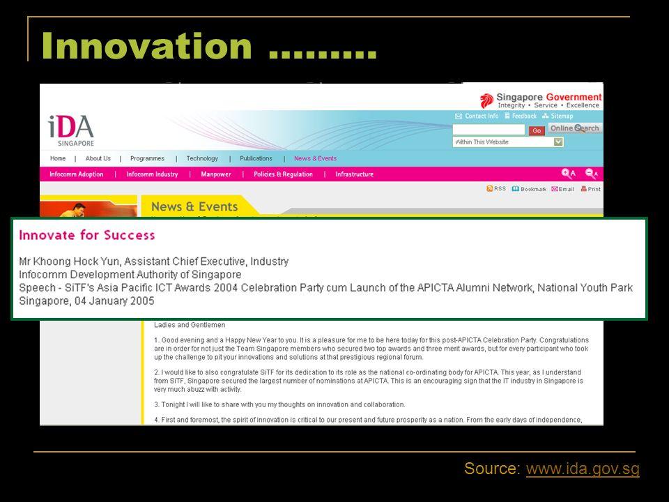Innovation ……… Source: www.skype.comwww.skype.com