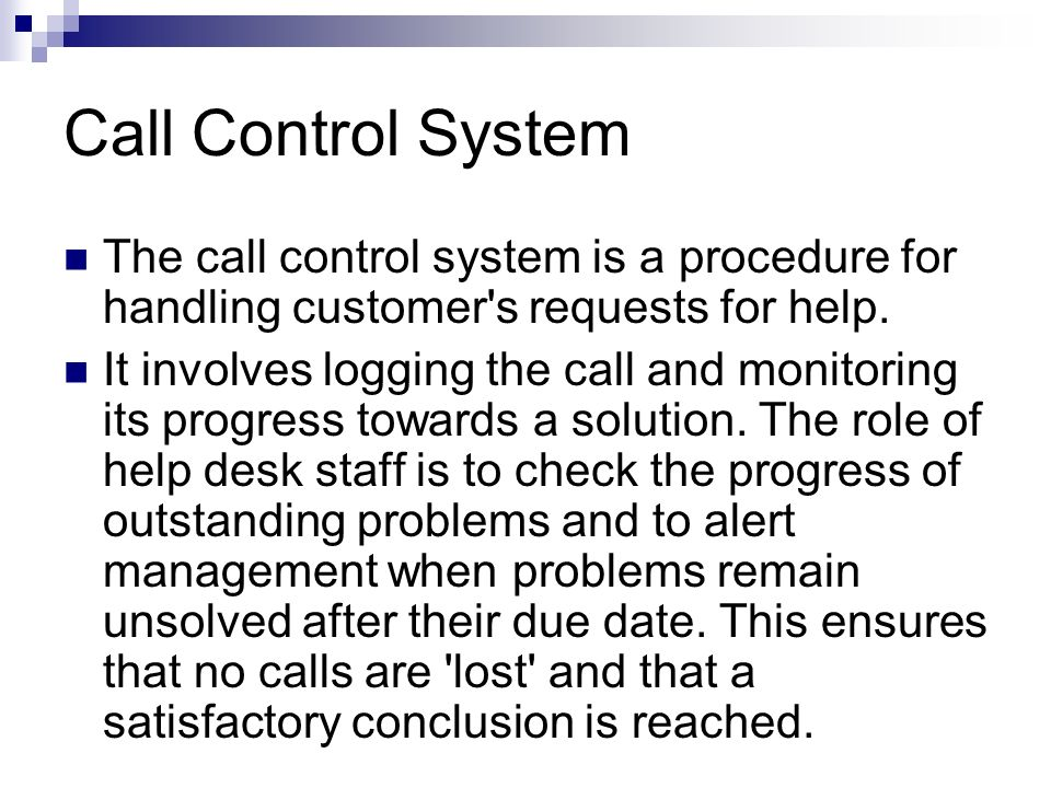 Single Point of Contact The single point of contact means customers have only one number to call to reach assistance. In the old days when there was n