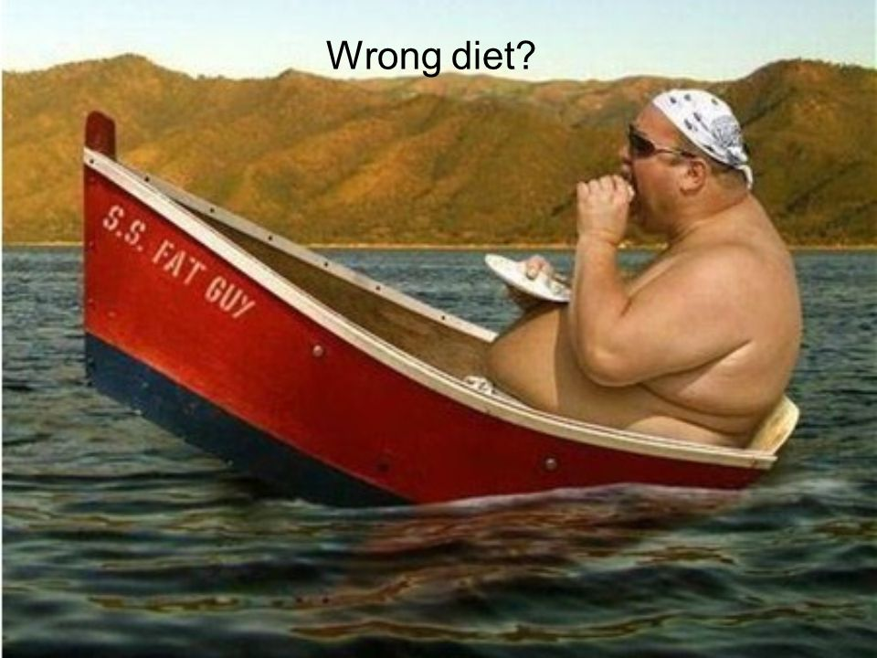Wrong diet?