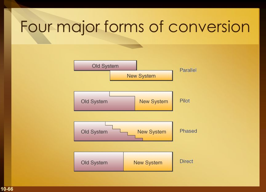 10-66 Four major forms of conversion