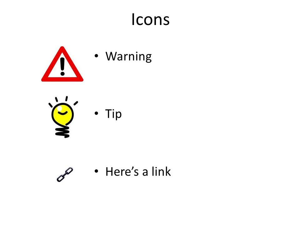 Icons Warning Tip Heres a link