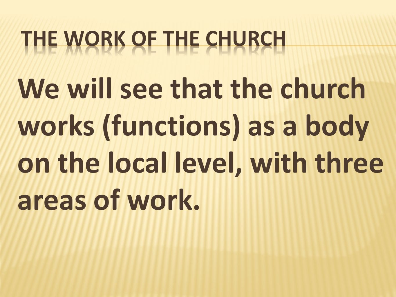 Ephesians 4:11-12 – Christ gave gifts to His Church which included elders for the purpose of edifying the body.