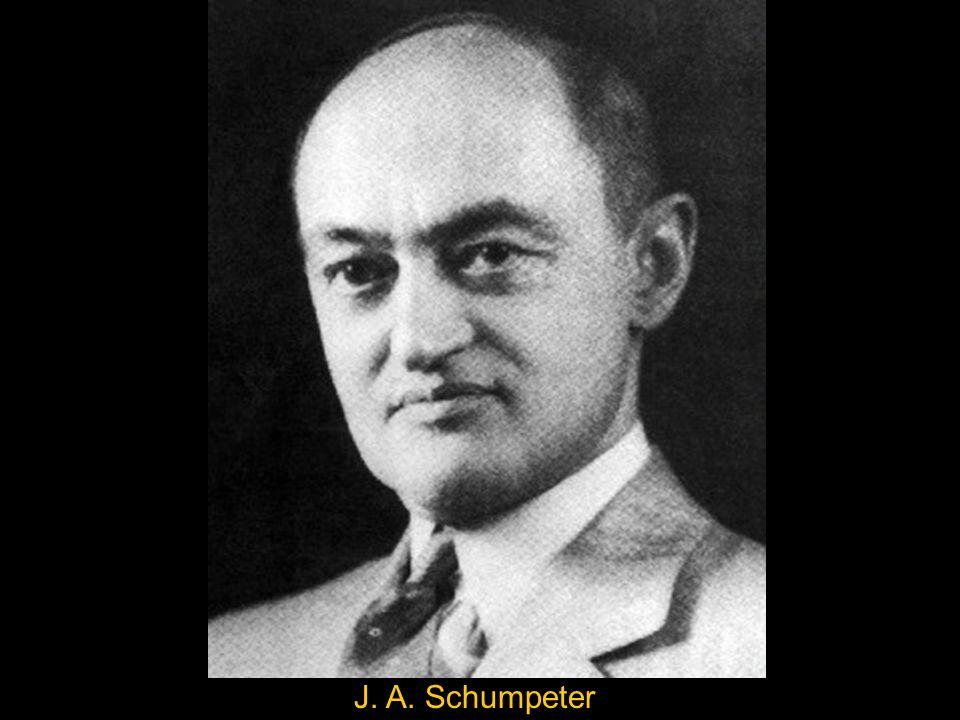 J. A. Schumpeter
