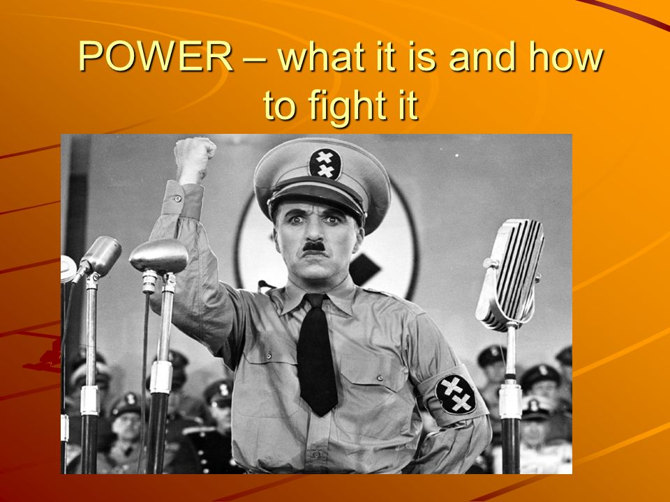 POWER – what it is and how to fight it
