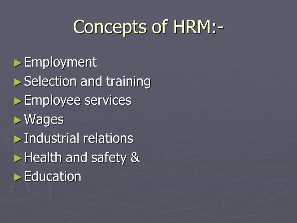 Functions of personnel Mgt:- Operative functions Procurement Procurement Development Development Compensation Compensation Maintaining Maintaining Managerial functions Planning Organizing Co-ordination Directing Motivating Controlling