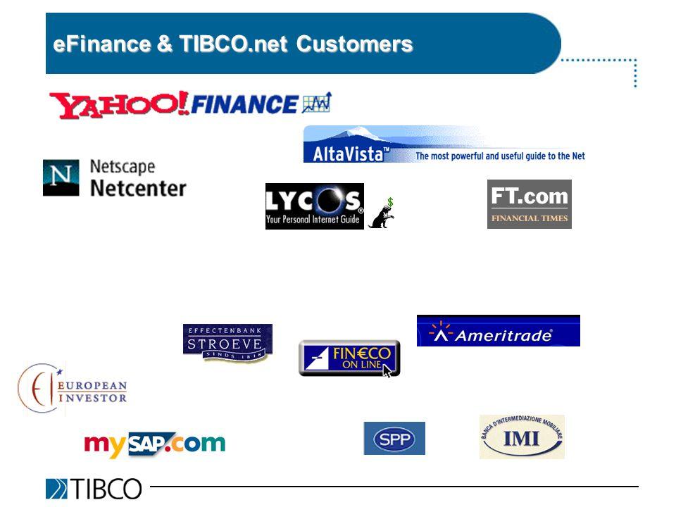 eFinance & TIBCO.net Customers