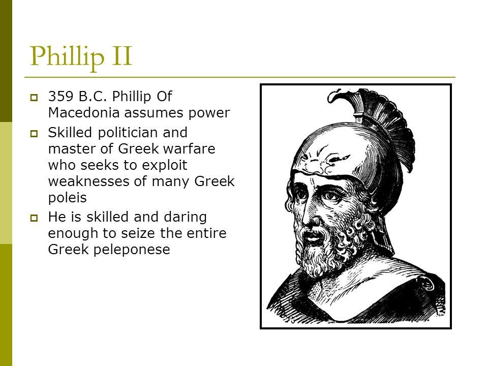 Phillip II 359 B.C.