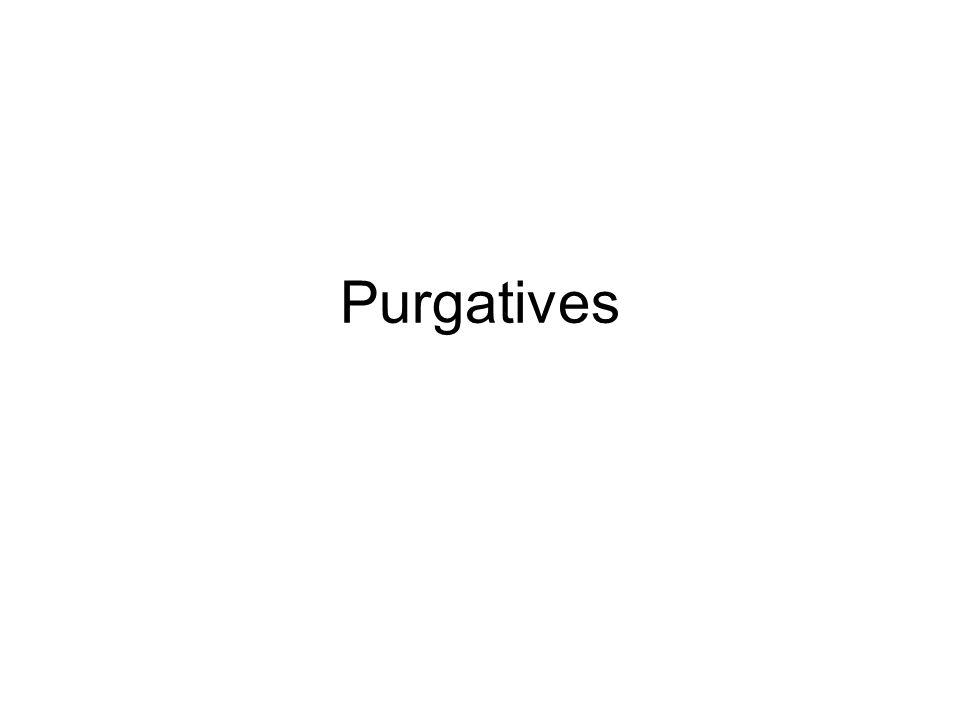 Purgatives