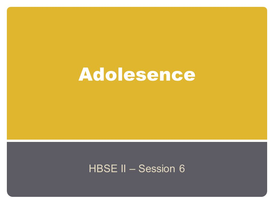 Adolescence – Physical Changes Early:11-14 years Middle:15-18 years Late:18-21 years Adolescence has been described as a socially constructed age; it has a universal cultural context – the transition from childhood to adulthood.