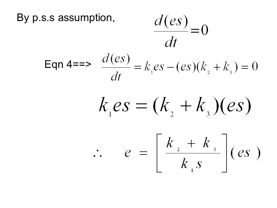 By p.s.s assumption, Eqn 4==>