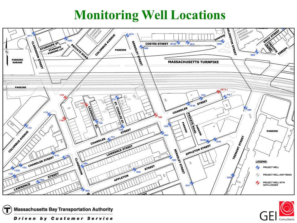 Monitoring Well Locations