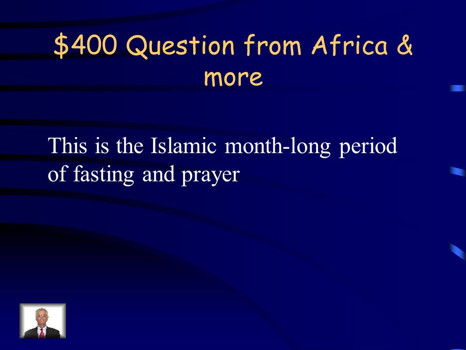 $300 Answer from Africa & more Who are the Taliban?