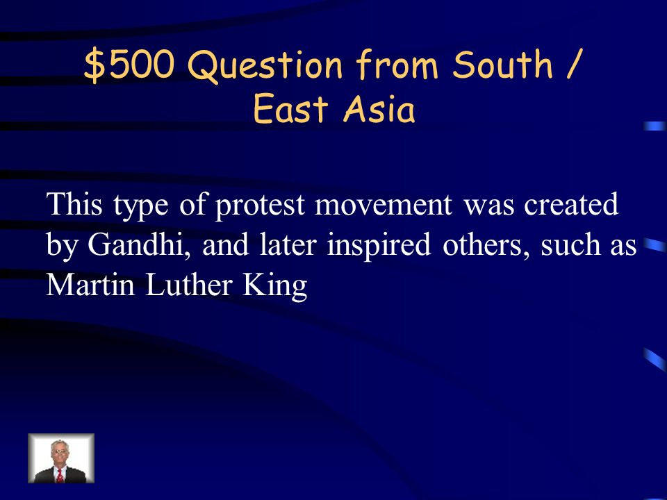 $400 Answer from South / East Asia What is the Boxer Rebellion?