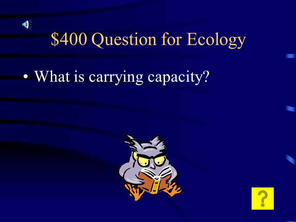 $300 Answer for Ecology Chain = direct feeding relationships Web= all organisms in a community