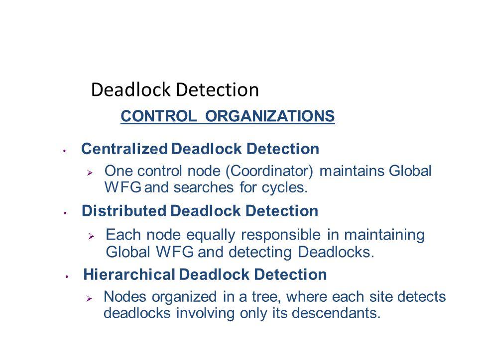 Handling Deadlocks Deadlock Detection Resource allocation with an optimistic outlook.