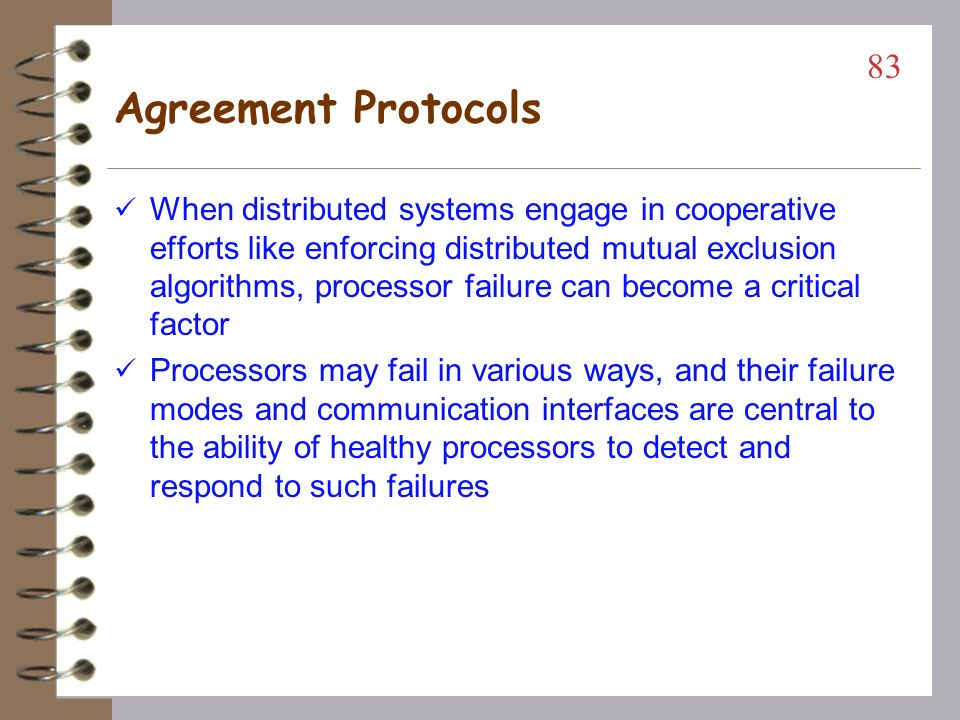 82 Agreement Protocols