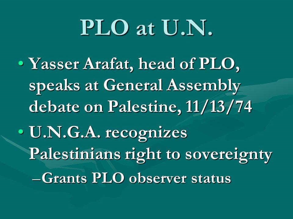 PLO at U.N.