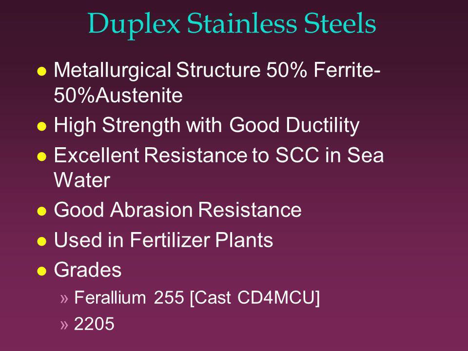 Austenitic Superalloys l Nickel Based l Nickel-Chromium-Molybdenum Alloys »Hastelloy C-276 [Cast CW-12MW] »Hastelloy C-22 [Cast CX-2MW ] »Inconel 625