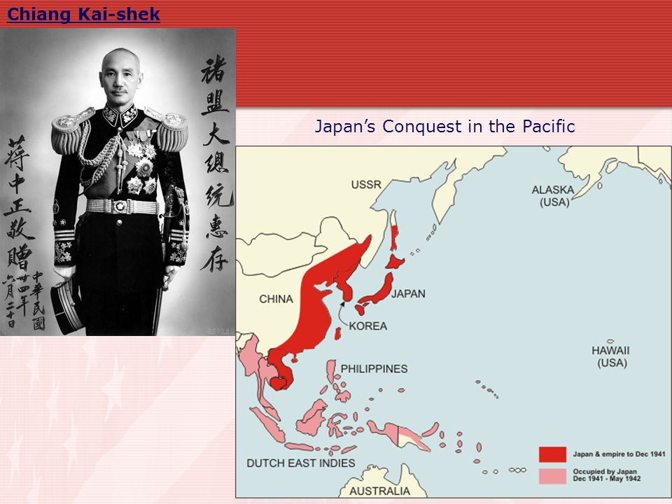 Japan is pushed back to its mainland Battle of Midway (June 4-7, 1942) – turning point in the Pacific war Allies broke the Japanese code.