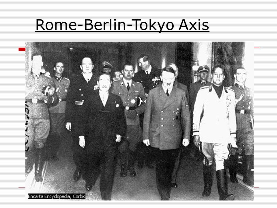 Rome-Berlin-Tokyo Axis