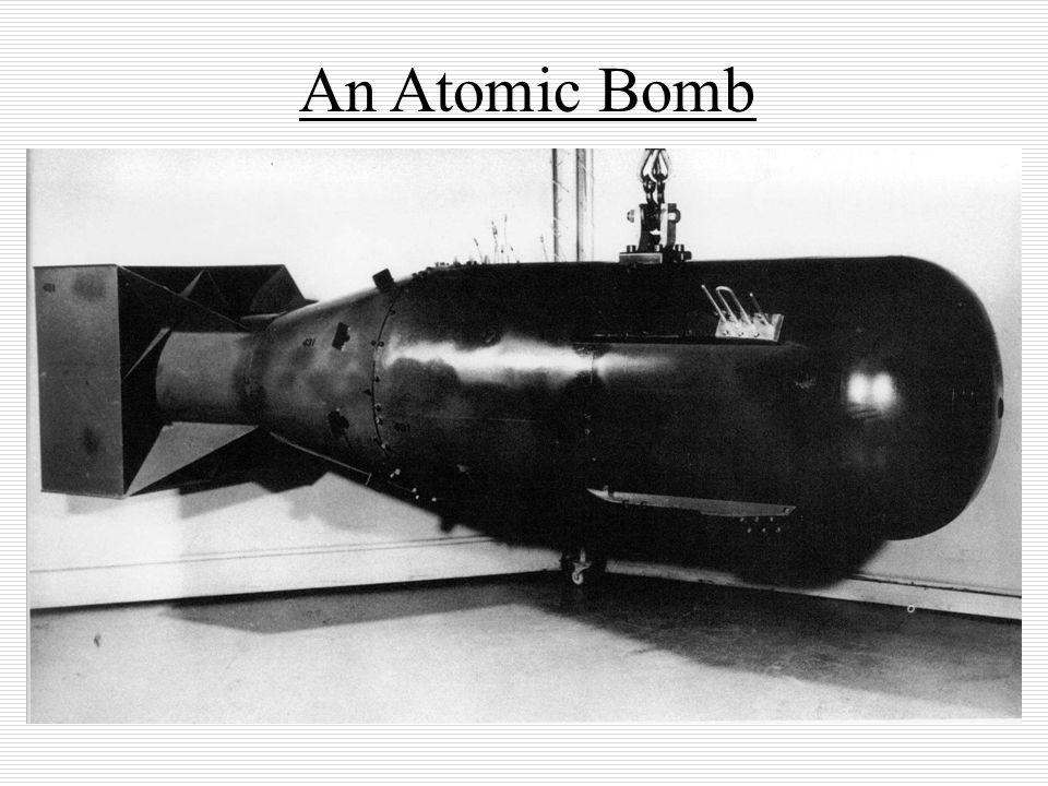 An Atomic Bomb