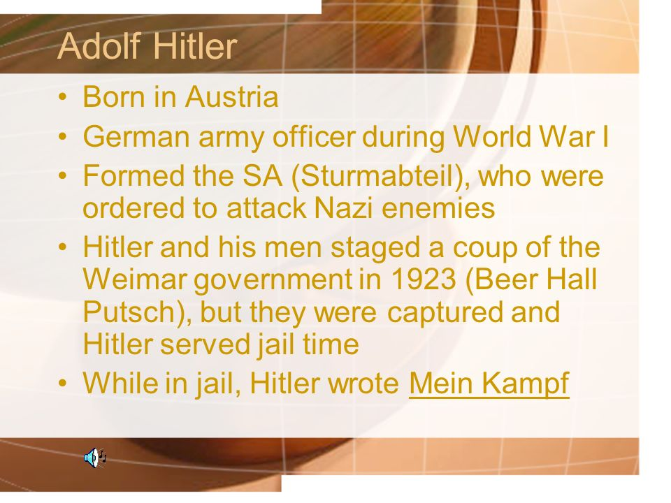 Holocaust Himmler lead the SS in war and ideas Wanted to create the Nazi super race of blonde-haired, blue-eyed Germans Concentration camps were set up to destroy Jews, elderly, sick, and mentally challenged to maintain German purity All camps based on the Dachau model, most famous is Auschwitz