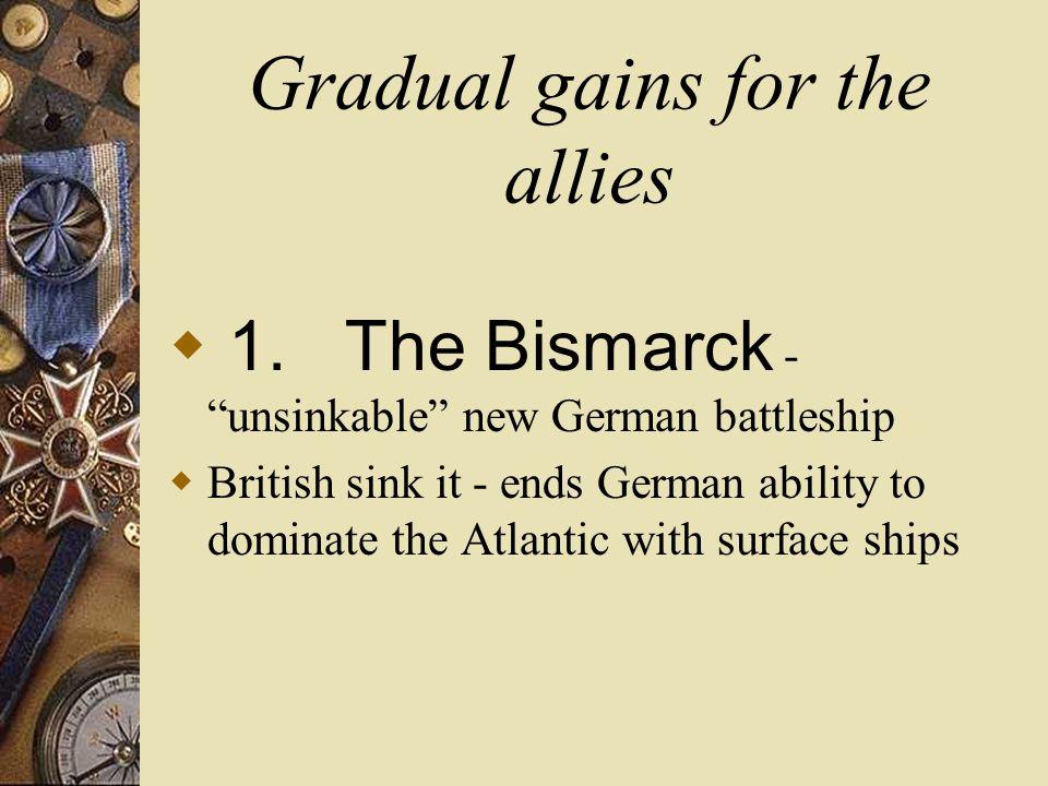 World War II The Inevitable War Part II Allied Advance