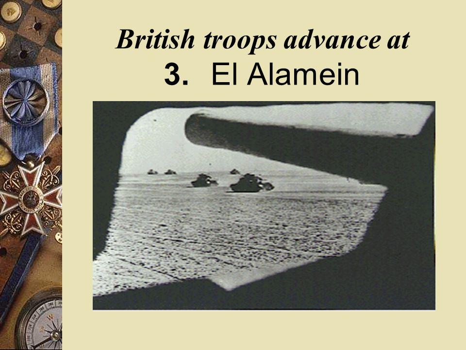 British General Bernard Montgomery Monty