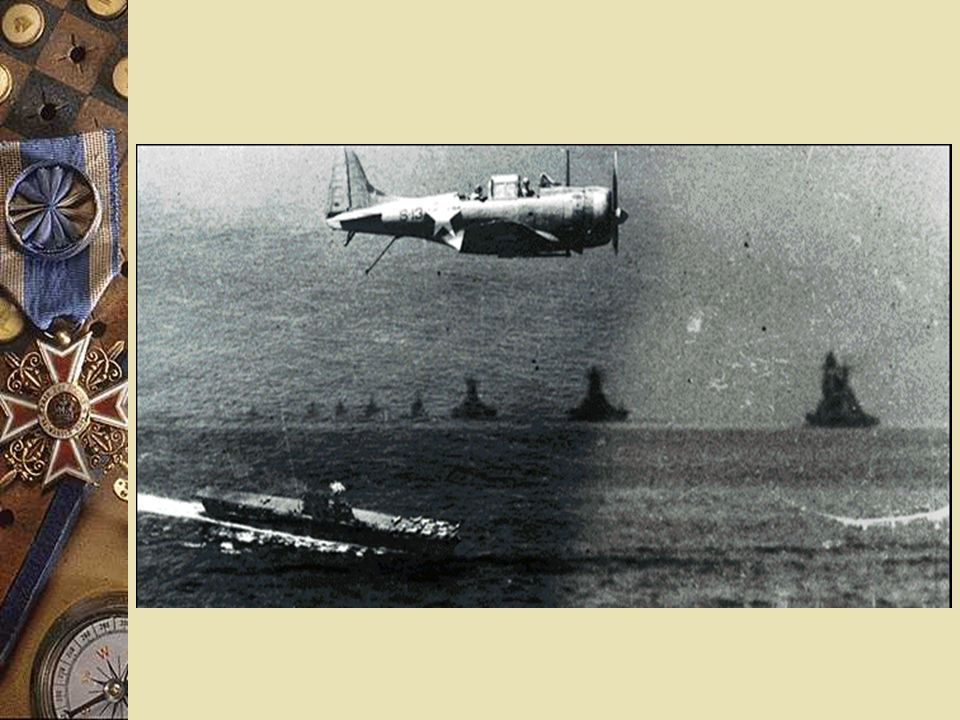 5. American Victories in the Pacific Battle of Midway - Americans sink Japanese aircraft carriers Americans begin island leapfrogging Japanese kamikaz