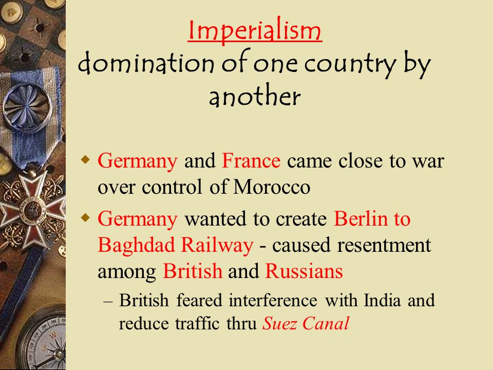 *The Schlieffen Plan Germanys invasion of Belgium was part of this plan Germany had enemies to East & West & did not want to fight a war on both fronts at the same time Believed Russia would be slow to mobilize and that they could fight & defeat France (W.