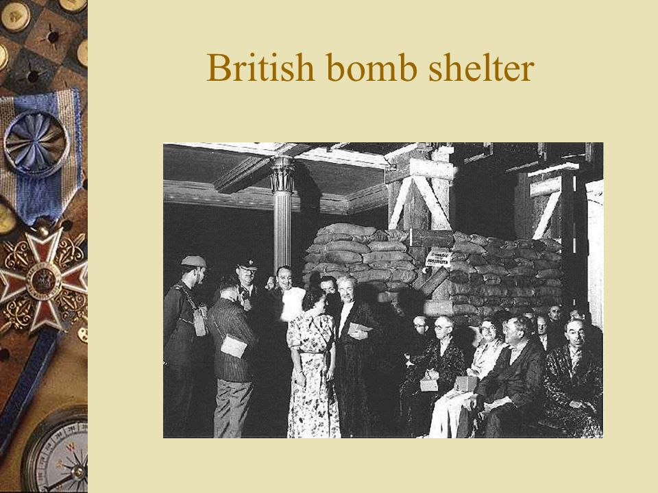 6) Battle of Britain - Germany began a massive bombing campaign to demoralize the British RAF successfully defended - radar!