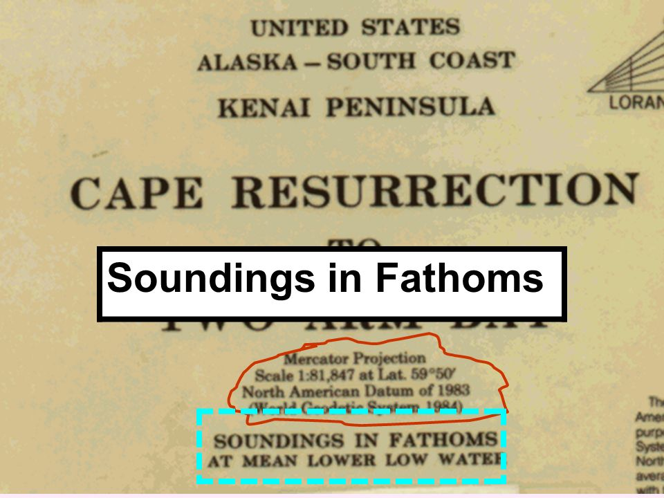 Soundings in Fathoms