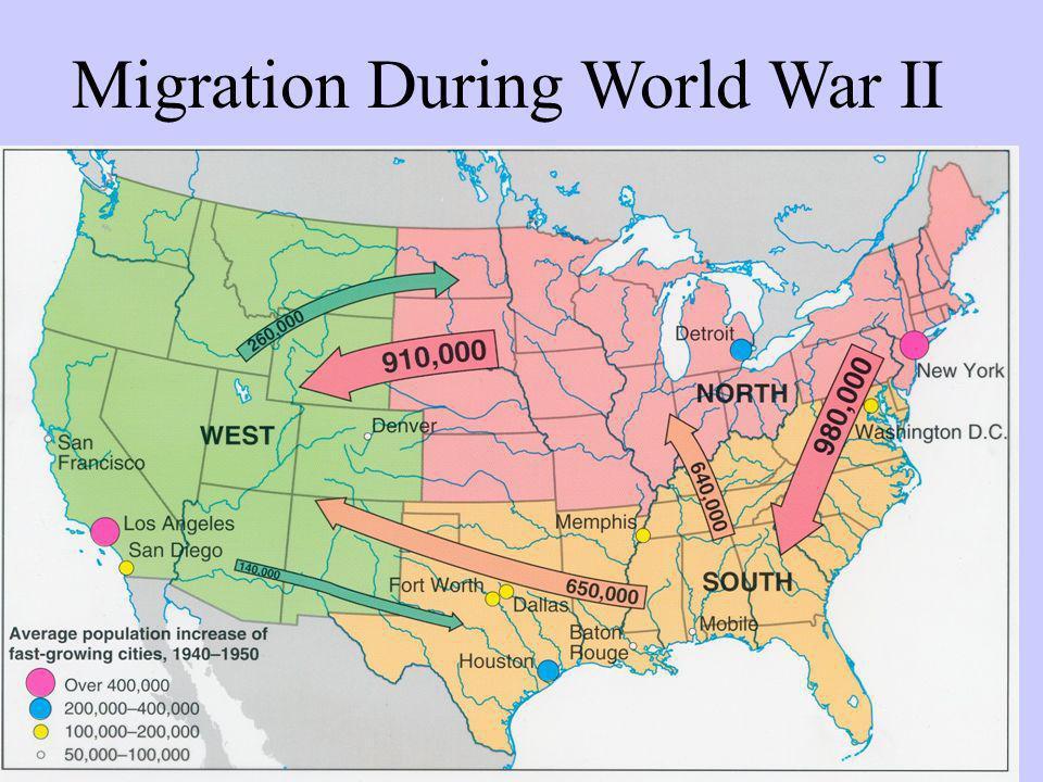 Migration During World War II