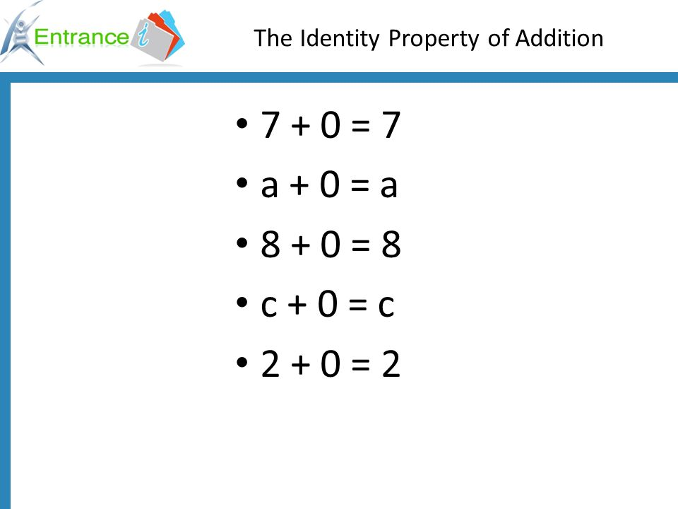 identity property of addition worksheet Brandonbriceus – Identity Property of Addition Worksheet