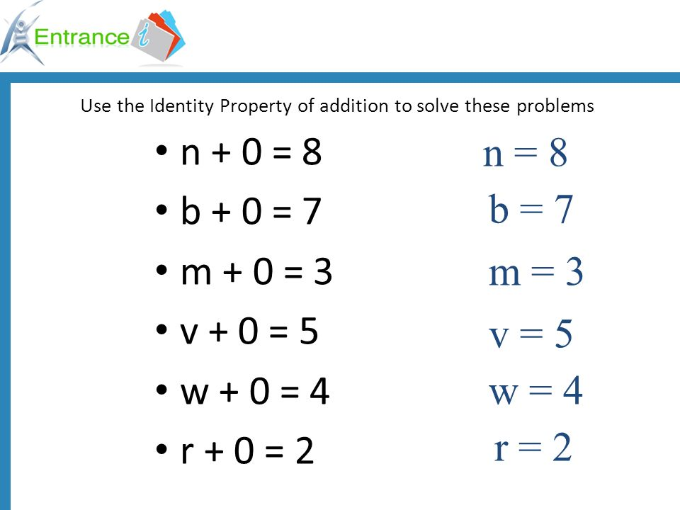 math worksheet : algebra ii by definitions equation  a mathematical sentence  : Identity Property Of Addition Worksheet
