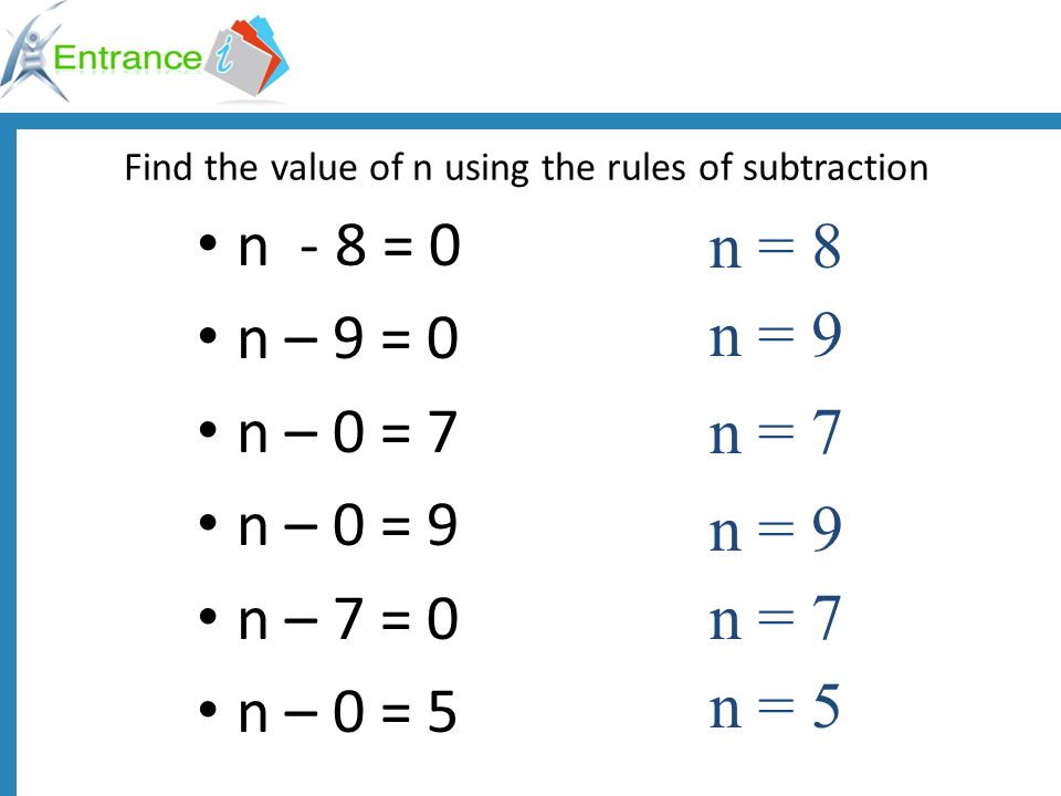 Write an equation for these problems using a variable Timothy got 72 right on his timed test in July.