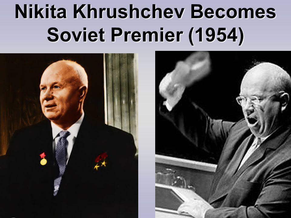 Nikita Khrushchev Becomes Soviet Premier (1954)