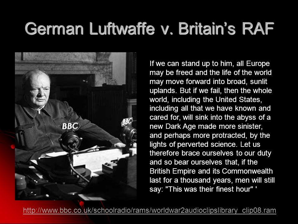 German Luftwaffe v.