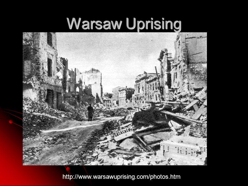 Warsaw Uprising http://www.warsawuprising.com/photos.htm