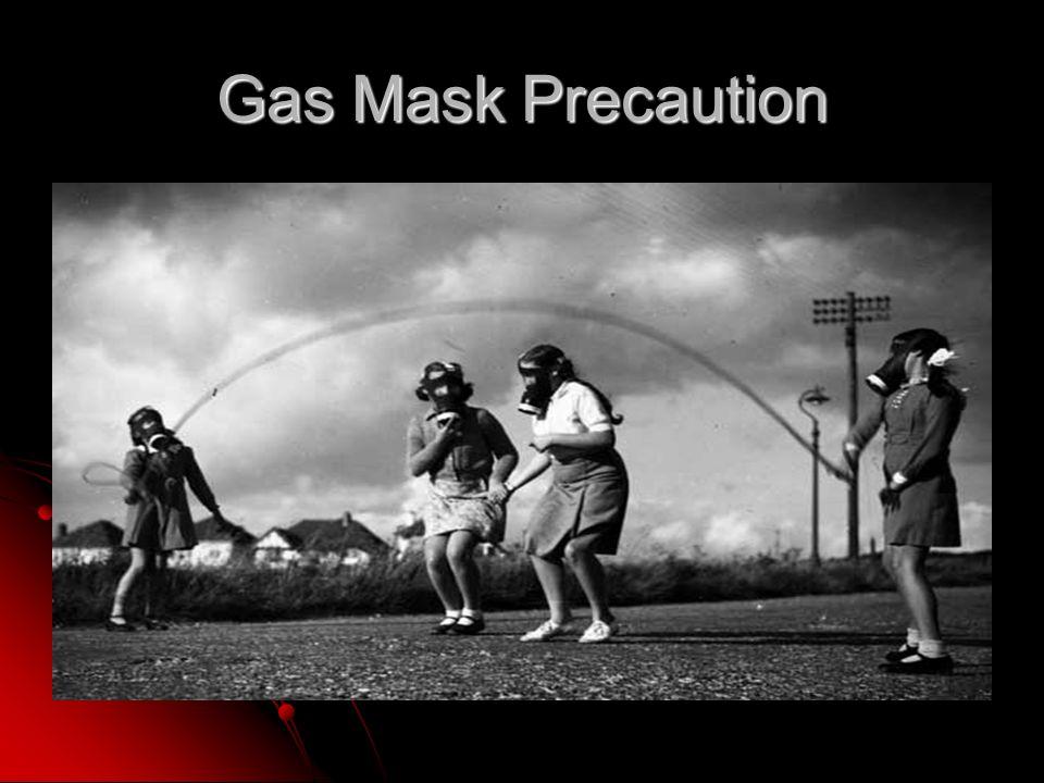 Gas Mask Precaution
