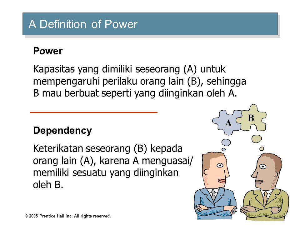 Organizational Behavior Power and Politics