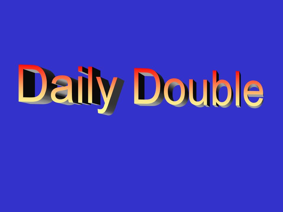 Solving Exponential Equations 600 A: x = 2.096 3 x – 4 = 6 S2C13 Jeopardy Review