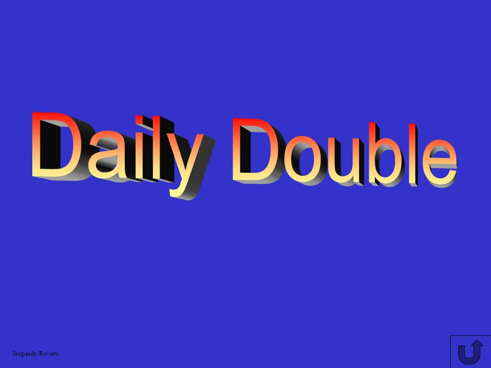 Logarithms 600 A: 1.699 Use the change of base formula to evaluate: log 6 21 Jeopardy Review