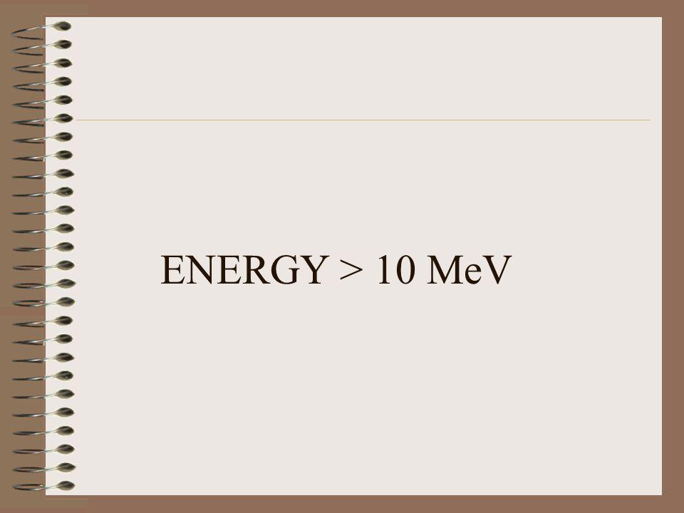 ENERGY > 10 MeV