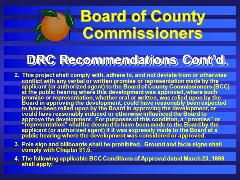 Board of County Commissioners 2.